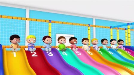 3D卡通英语儿歌童谣 10个宝宝学数字 儿童启蒙英语 动画歌曲 少儿早教音乐视频