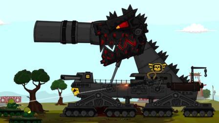 坦克世界动画: 又来黑中系? 无匹年兽横空出世, 这次有些难熬了!