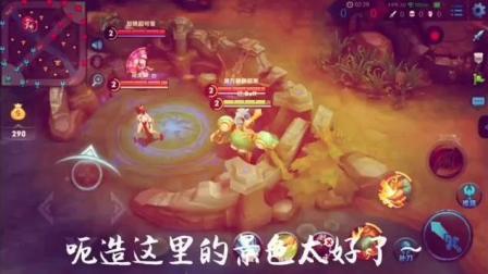 刘禅偶遇大浴室有三个美女, 闲漏的太少!