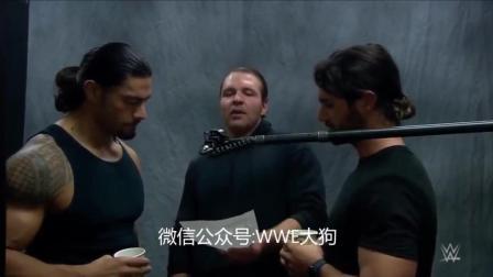 圣盾 WWE圣盾记录了他们歌曲的开头