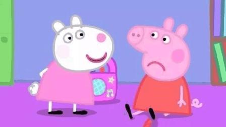 佩奇穿了一件会发热的衣服, 苏西笑她: 你会变成烤乳猪的