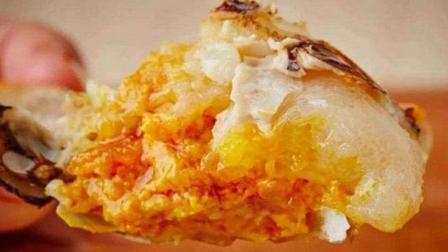 蟹黄包蟹黄月饼中的蟹黄竟然是这样加工出来的