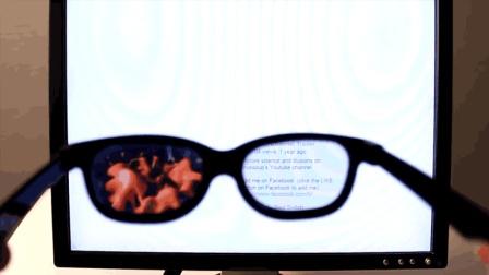 透视眼镜真的有用吗? 国外牛人尝试造出, 下一秒