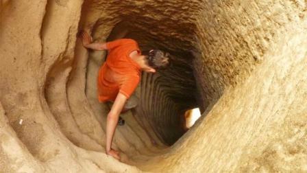 不用机械挖洞, 人类能挖到地下多深? 看完佩服人类毅力