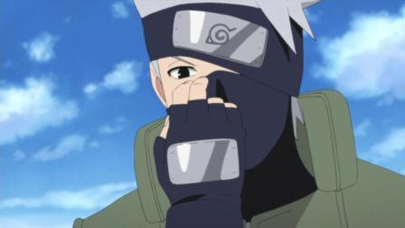 火影忍者: 为了让卡卡西摘下面罩, 鸣人雏田联手忽悠老师