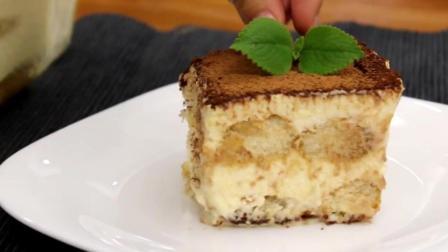 美味食谱, 再也不用去甜品店买提拉米苏了, 这么简单在家就可以做