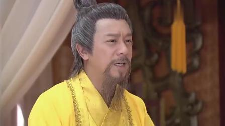 皇帝确认薛平贵就是失散多年的儿子, 激动的差点摔倒