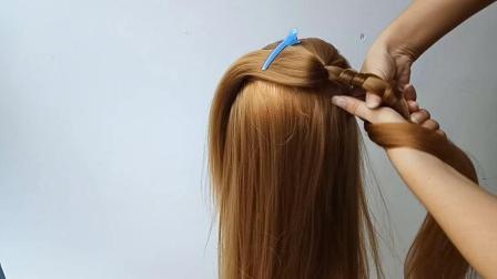 40岁女人发型不能够太随意, 给自己扎一款时髦编发, 减龄又少女