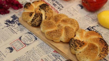 玩转花式面包, 为你详解凯撒面包的做法!