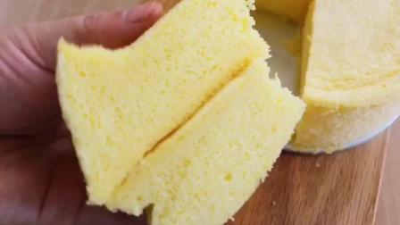 酸奶蒸蛋糕, 不用烤箱不用蒸, 轻松完成!