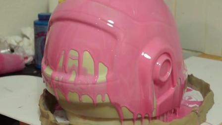 耗时300小时, 历经一年, 牛人自制酷炫 Daft Punk 头