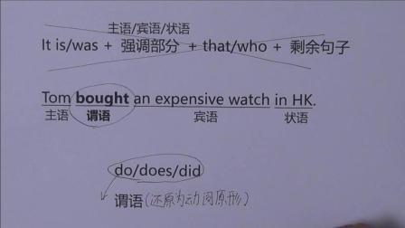 英语强调句5