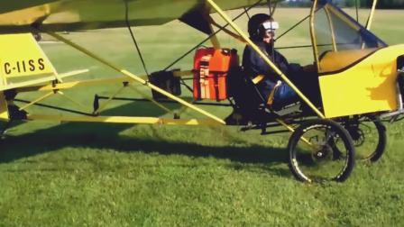 """""""纸飞机""""也能飞上天? 牛人自制纸飞机试飞成功"""