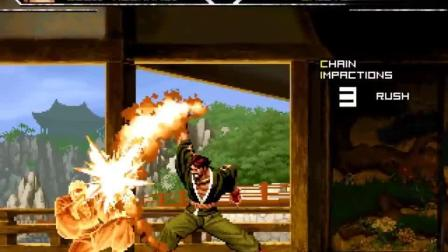 拳皇大乱斗: 草薙苍司VS草薙柴舟 草薙京唯一尊敬的男人