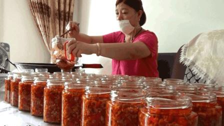 美味的辣椒酱, 纯手工制作, 农村阿姨一五一十全告诉你