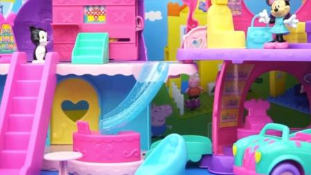 米奇妙妙屋的大商场玩具!