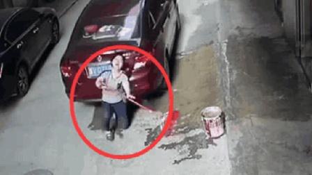 女司机在家门口倒车, 竟直接将母亲碾压身亡, 监控拍下绝望瞬间!