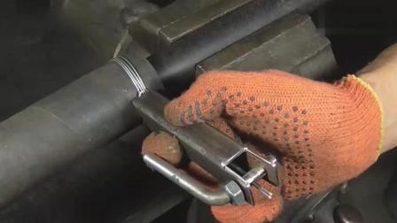 牛人自制的这个新工具, 捆扎铁丝百分之百结实