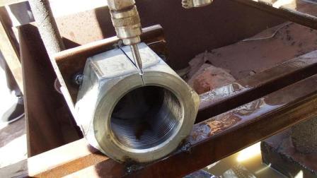国内牛人发明的低压水切割机太牛了, 什么都能切