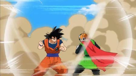 龙珠: 孙悟空与赛亚蒙面超人在田野里打架, 地都白耕了, 老婆琪琪怒了