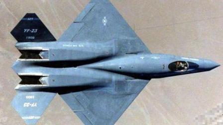 F22的死敌YF23验证隐形战机