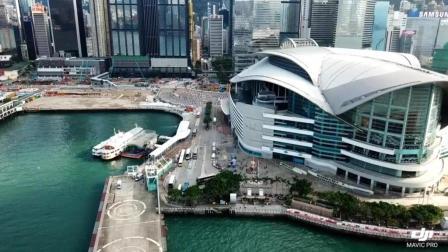 香港 维多利亚港 航拍