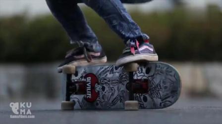 12 岁玩转自由式滑板, 看完感到自己老了