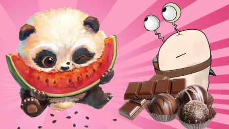 魔力奇趣蛋 贪吃巧克力的熊猫宝宝