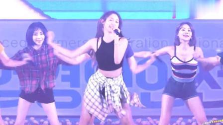 韩国美女AOA的热舞表演, 兴奋你的大脑!