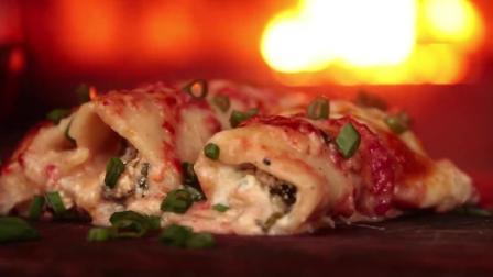 【超清】塞尔维亚森林大厨118 乳清干酪 意大利肉卷