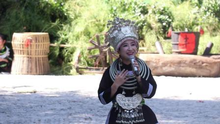 苗族美女到侗寨唱歌, 天籁的声音, 感动现场所有人