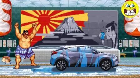 充满童年回忆的创意广告: 你还记得快打旋风那台被打烂的车吗?