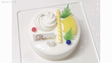 菠萝奶油蛋糕教程