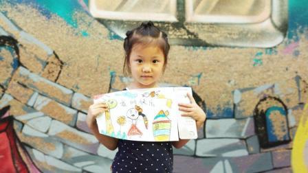 孩子的童真绘画交到大人手中 竟变身国际范丝巾! 这种公益请来一打好嘛