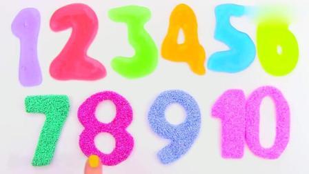亲子丨益智: 珍珠雪花泥DIY数字 学习颜色和形状 英语启蒙