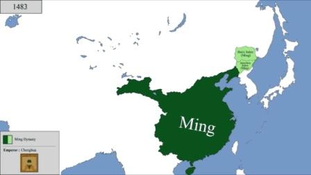 伟大的五千年! 外国人眼中的中国各朝代历史地图