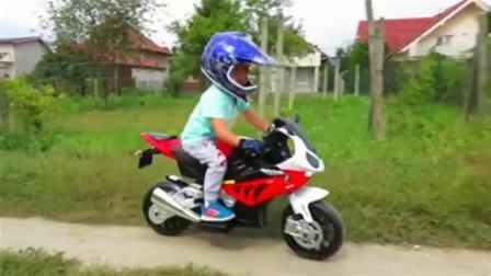 超级跑车 电动摩托车 交通工具装配 儿童玩具游戏