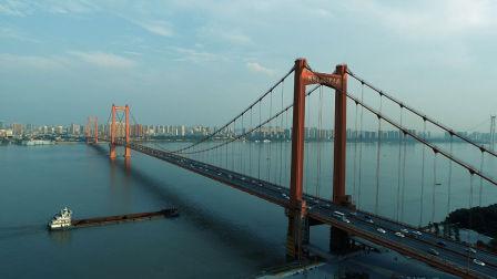中国长江上最美的大桥,刚刚建成四年已成为武汉最美的地标!