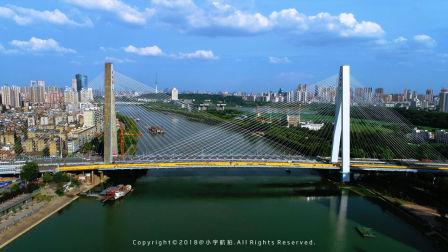 建成20年的月湖桥有了姊妹桥,双向8车道从此汉口汉阳畅通无阻!