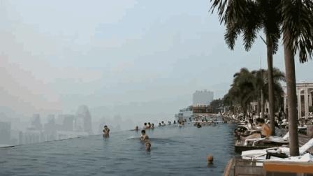 半空中的无边游泳池, 一般人去不起, 一起看看有