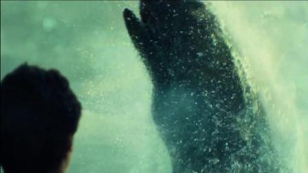 爱剪辑-《海洋深处》巨鲸出现, 轻而易举撞烂捕鲸船