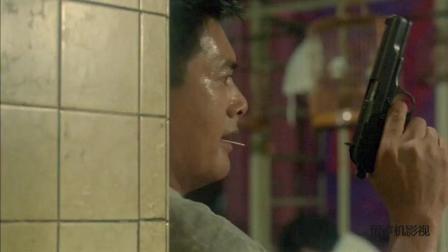 辣手神探: 发哥在饭店与罪犯火拼, 没想到最后自己的好兄弟也被打死