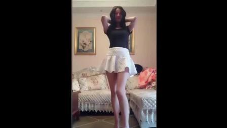 模特老婆跳舞, 简直美翻了!