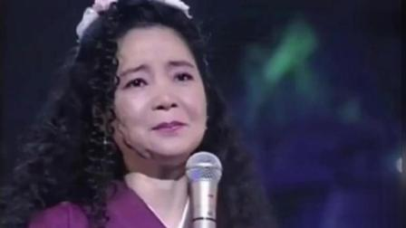 邓丽君在演唱会上翻唱《花心》比周华健还潇洒, 有种特别的味道