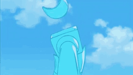 大雄和哆啦a梦在后山上建造了滑水王国