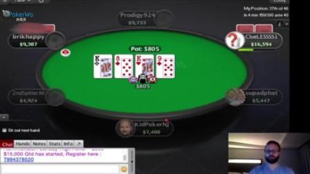 Daniel Negreanu游戏扑克之星高额桌第二部