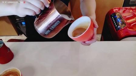 【咖啡拉花视频】【爱心】