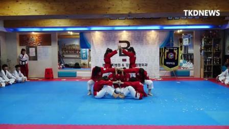 2018HAMADANG韩国某示范团团体冠军专场表演