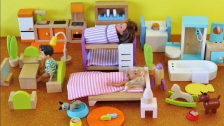 玩具娃娃屋 芭比娃娃和玩具娃娃 Barbie Dolls