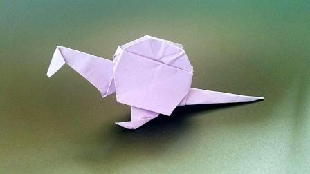 折纸王子教你棘龙, 小朋友很喜欢的手工